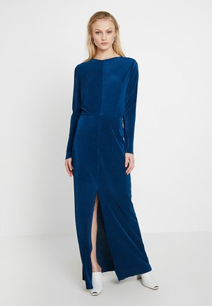 OLEA LONG DRESS - Maksimekko - blue opal