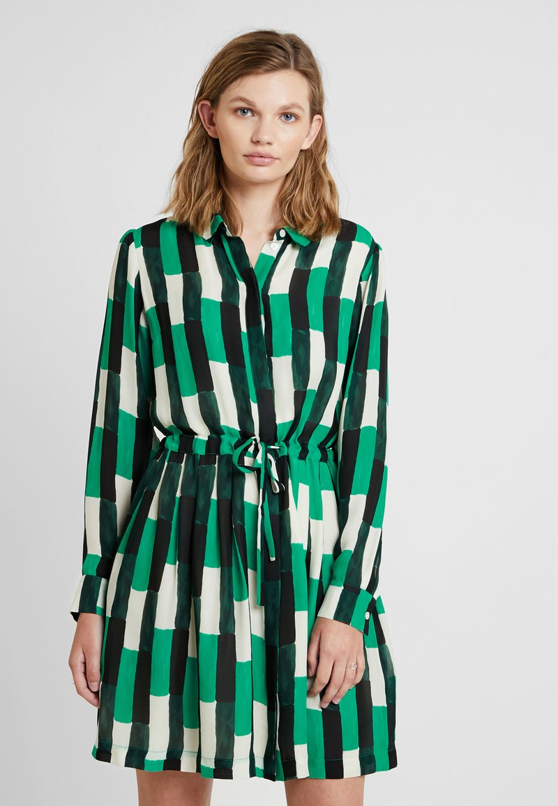Samsøe Samsøe - DRESS - Skjortklänning - green