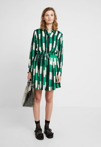 Samsøe Samsøe - DRESS - Skjortklänning - green - 1