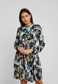 Samsøe Samsøe - MONIQUE SHIRT DRESS - Kjole - night meadow - 0