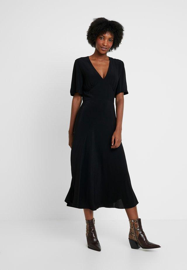 CINDY DRESS - Denní šaty - black