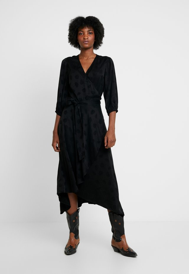 VENETA DRESS - Vestito estivo - black