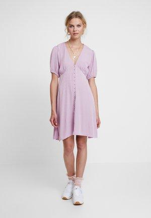 PETUNIA SHORT DRESS 11511 - Shirt dress - lavendar herb
