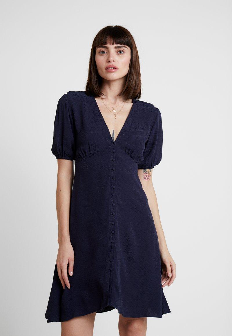 Samsøe & Samsøe - PETUNIA SHORT DRESS 11511 - Shirt dress - night sky