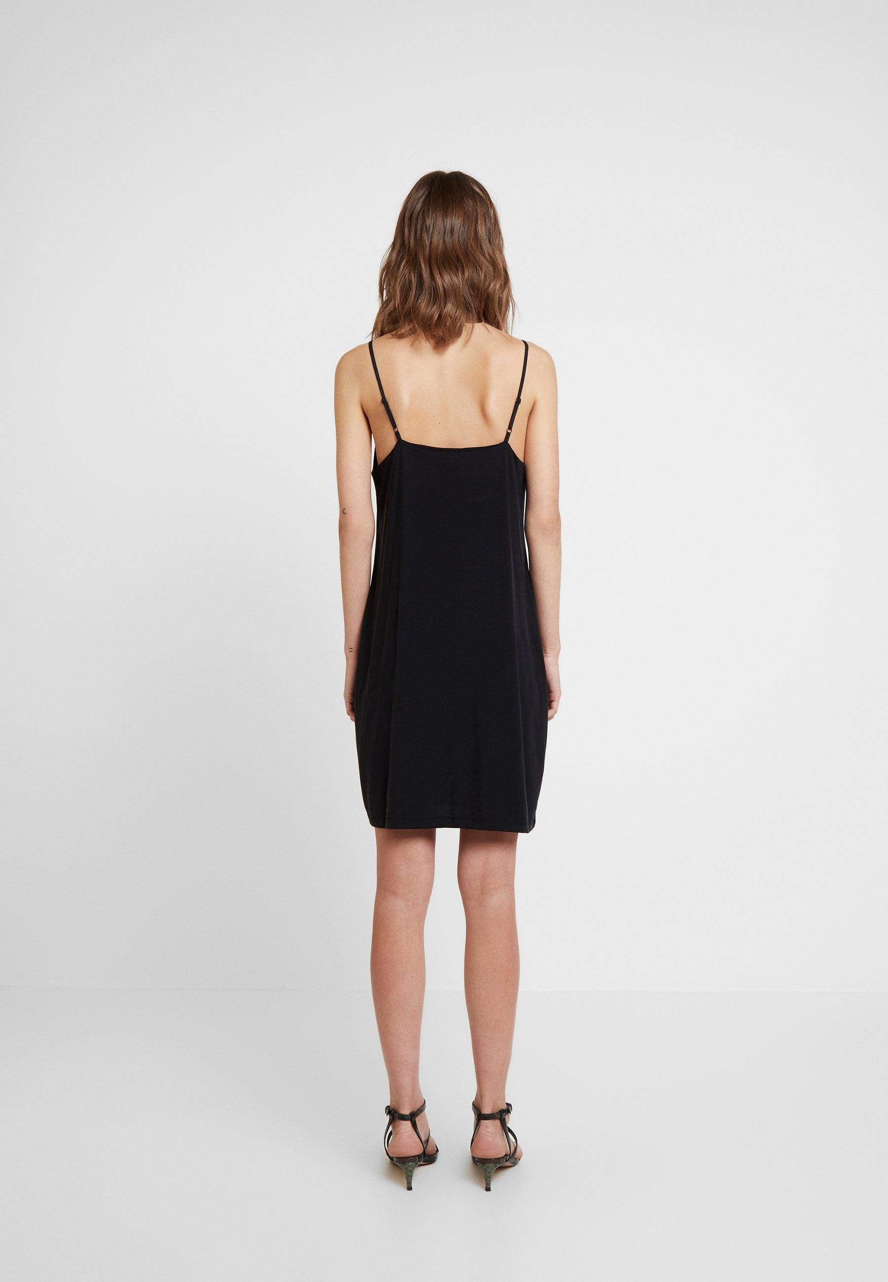 Samsøe Krista Slip Dress - Jersey Black