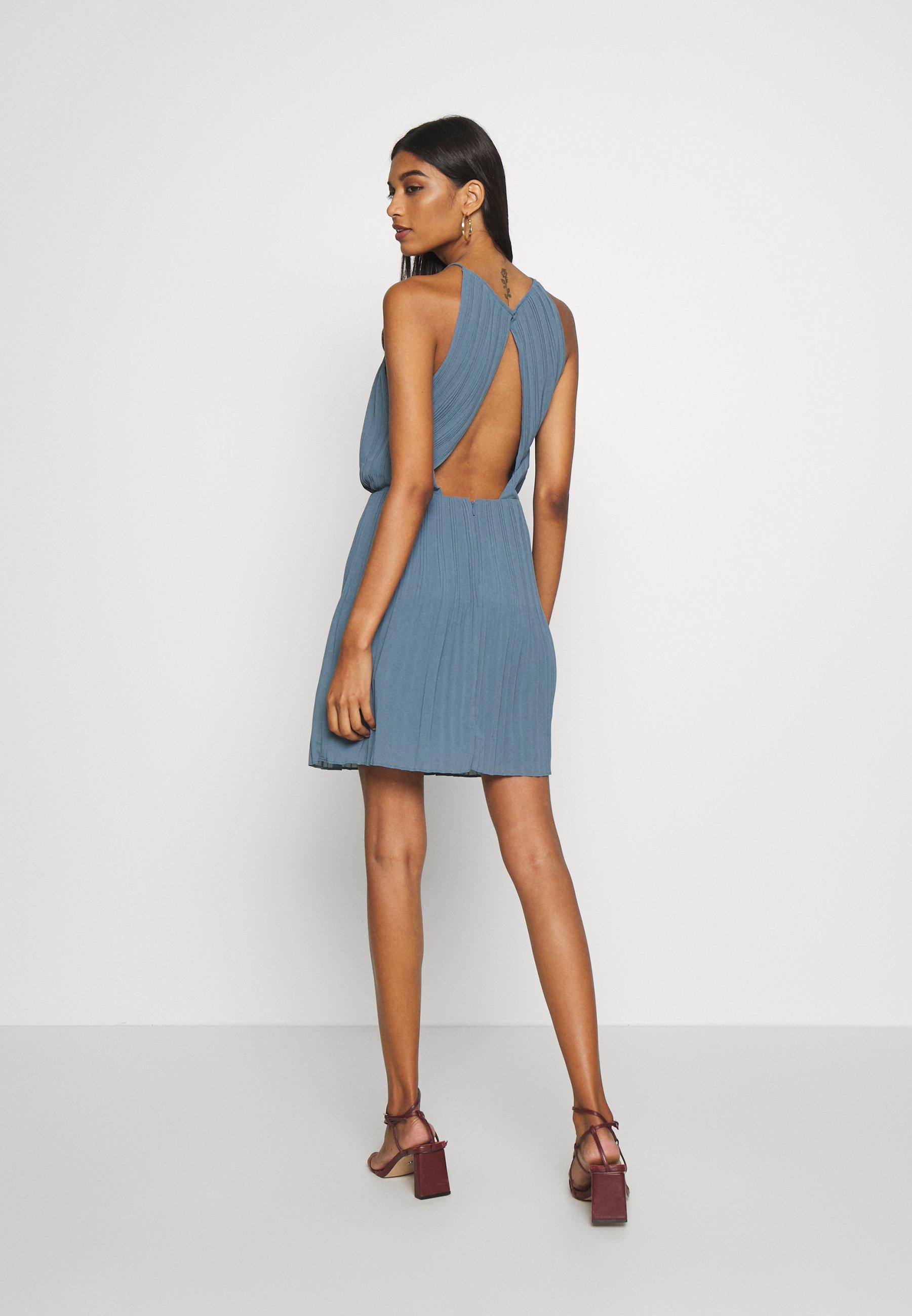 Samsøe Samsøe MYLLOW SHORT DRESS - Sukienka letnia - blue mirage