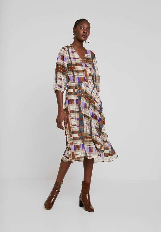 VENETA DRESS - Korte jurk - multicolor