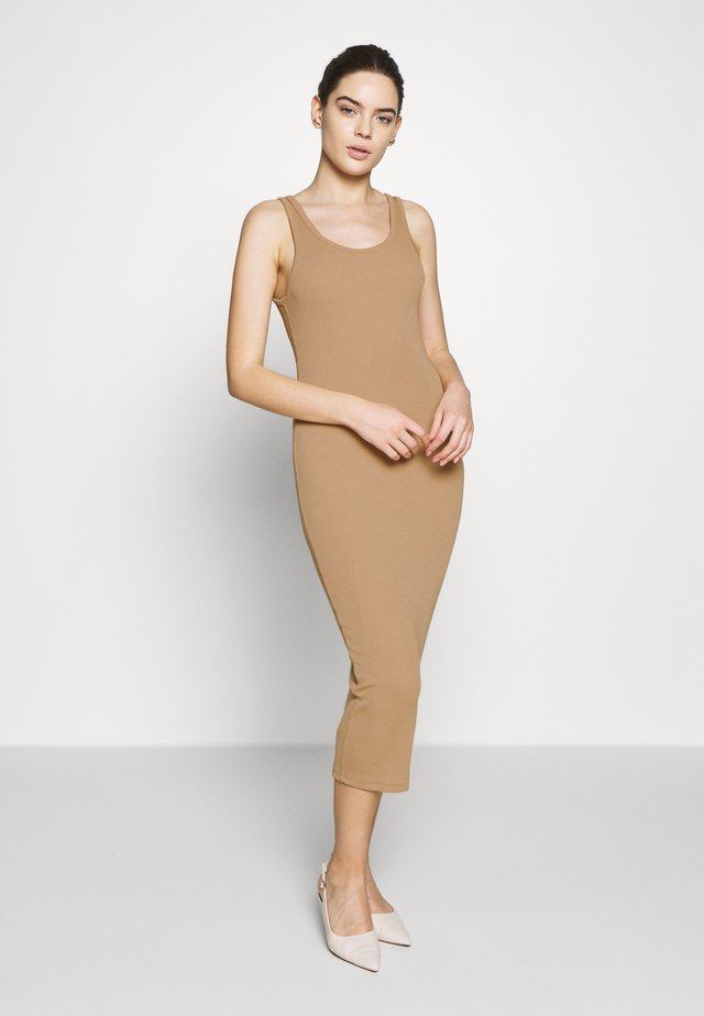 LOVA DRESS - Shift dress - croissant