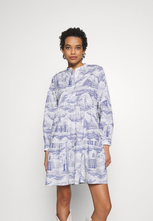 MARGO SHIRT DRESS - Shirt dress - city of towers