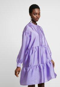 Samsøe Samsøe - MARGO - Koktejlové šaty/ šaty na párty - aster purple - 0