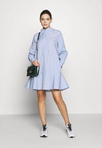Samsøe Samsøe - LAURY SHIRT DRESS - Blousejurk - blue - 1
