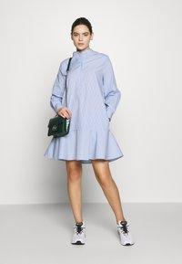 Samsøe Samsøe - LAURY SHIRT DRESS - Skjortklänning - blue - 1