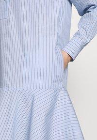 Samsøe Samsøe - LAURY SHIRT DRESS - Skjortklänning - blue - 4