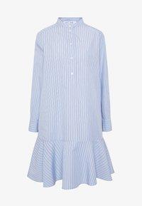Samsøe Samsøe - LAURY SHIRT DRESS - Skjortklänning - blue - 5
