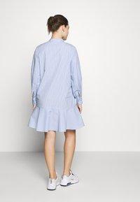Samsøe Samsøe - LAURY SHIRT DRESS - Skjortklänning - blue - 2