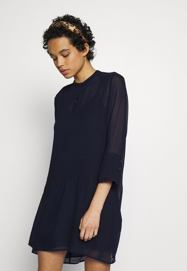 ELM SHORT DRESS - Shirt dress - night sky