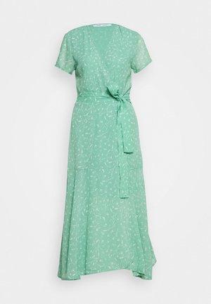KLEA LONG DRESS  - Korte jurk - feuilles menthe