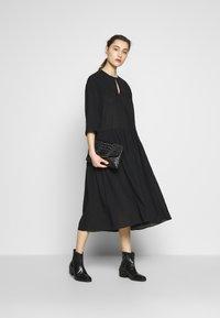 Samsøe Samsøe - KAROL LONG DRESS - Robe d'été - black - 1