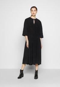 Samsøe Samsøe - KAROL LONG DRESS - Robe d'été - black - 0