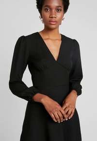 Samsøe Samsøe - CINDY SHORT DRESS - Vestito estivo - black - 5