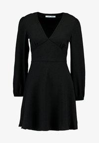 Samsøe Samsøe - CINDY SHORT DRESS - Vestito estivo - black - 4