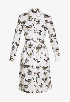 KATLA DRESS - Vestido camisero - off-white