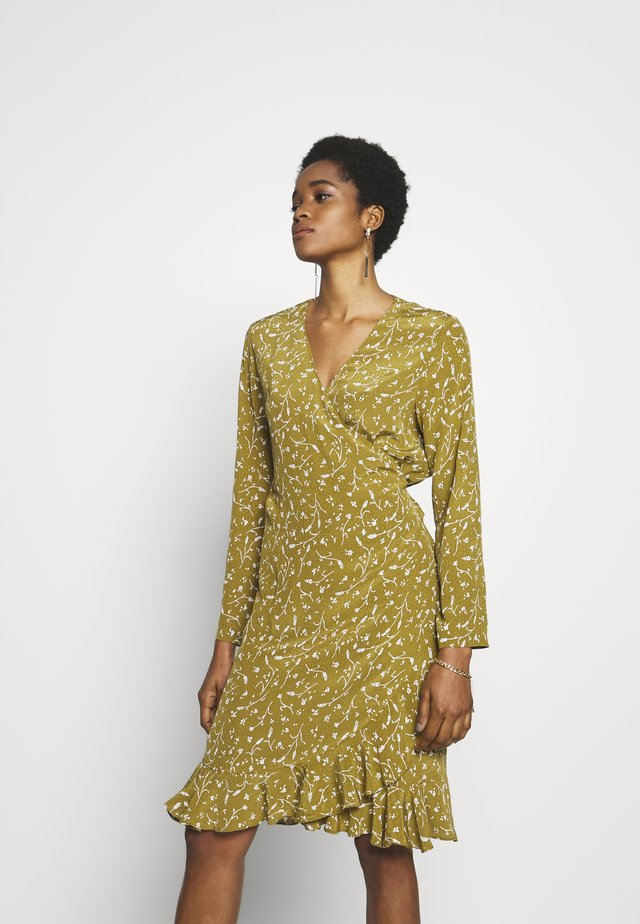 LIMON DRESS - Korte jurk - khaki