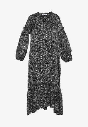 VIVRE DRESS - Vestido largo - black blossom