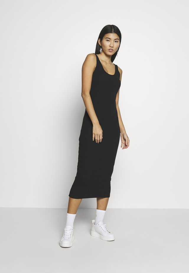SUELLA DRESS - Sukienka etui - black