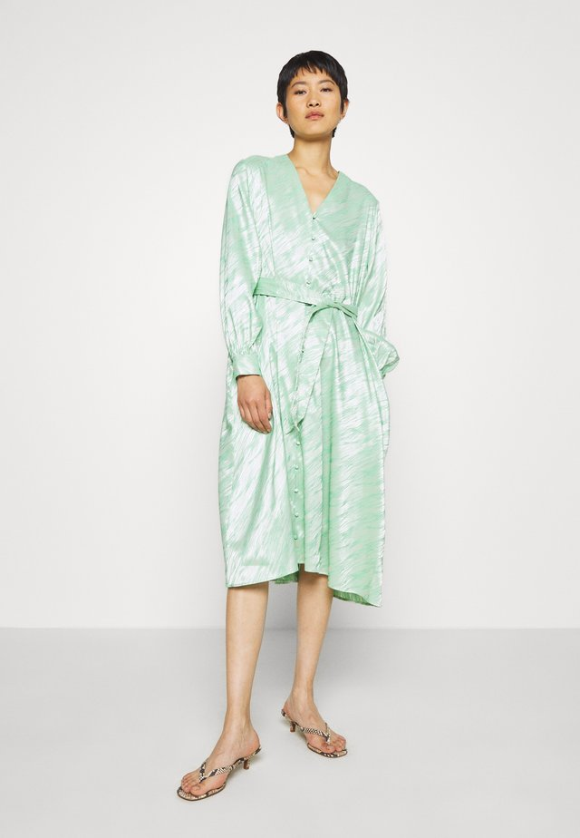SAVERINE DRESS - Day dress - jade cream