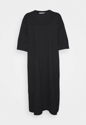 ELOISE DRESS - Trikoomekko - black