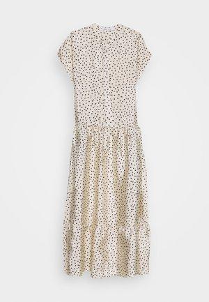 MARGO LONG DRESS  - Maxikleid - off-white/black
