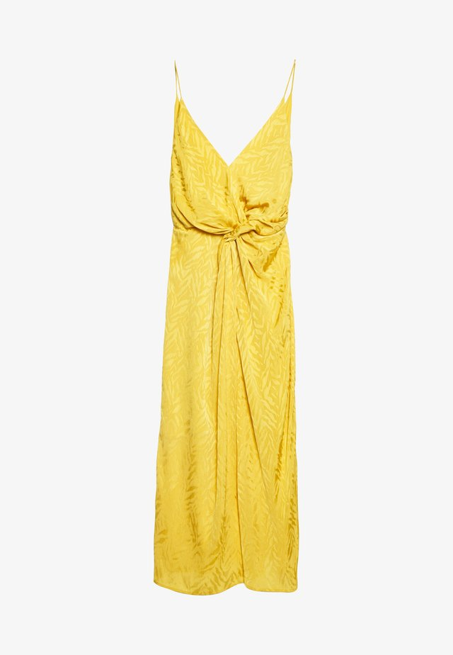 DANCE DRESS - Korte jurk - mineral yellow