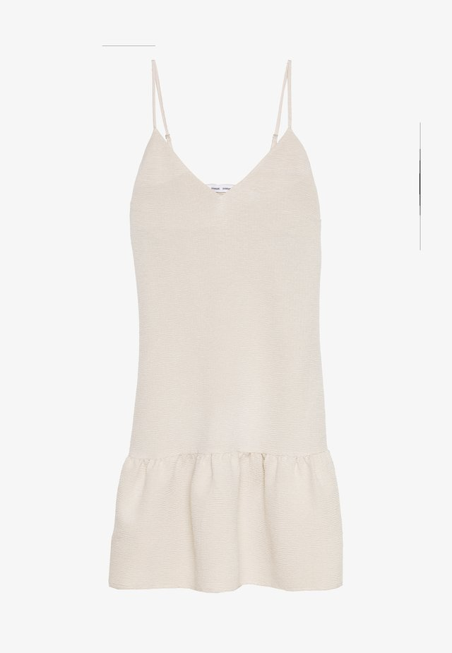 JUDITH SHORT DRESS - Korte jurk - warm white