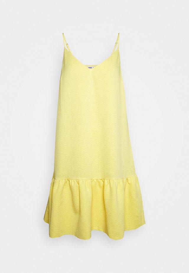 JUDITH SHORT DRESS - Korte jurk - pineapple slice