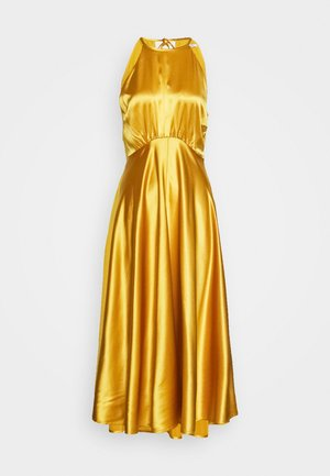 RHEA DRESS - Abito da sera - mineral yellow