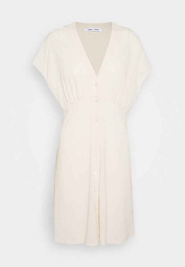 VALERIE SHORT DRESS - Blousejurk - warm white