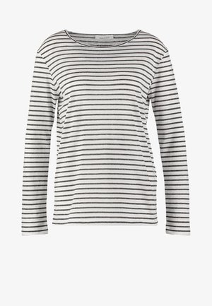 NOBEL STRIPE - Longsleeve - black stripe