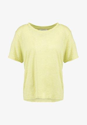 AGNES - T-shirts med print - endive