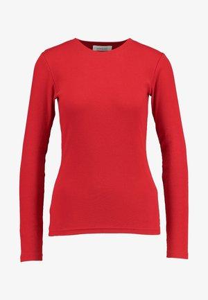 ALEXA - Long sleeved top - high risk red