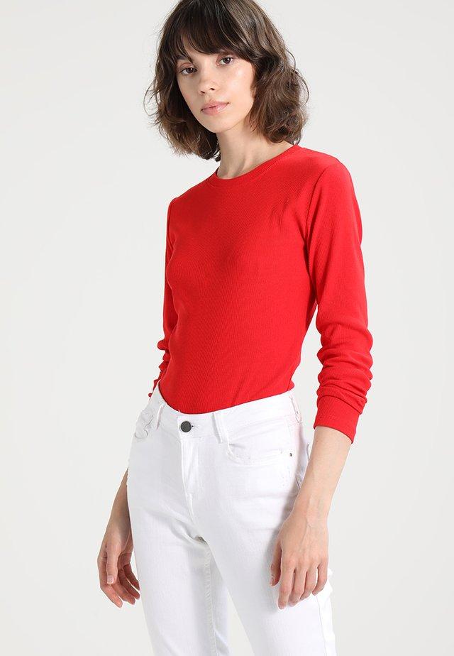 ALEXA - Langarmshirt - high risk red
