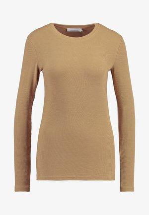 ALEXA - T-shirt à manches longues - camel