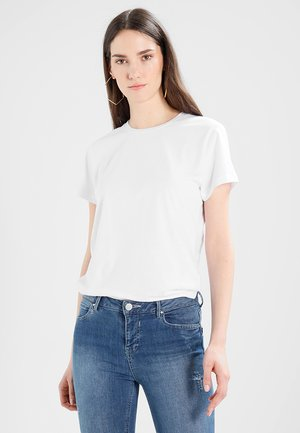 SOLLY TEE SOLID - T-shirts - white