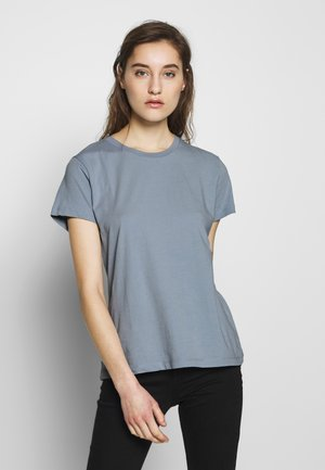 SOLLY TEE SOLID - Jednoduché triko - dusty blue