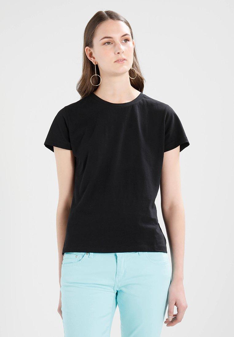 Samsøe & Samsøe - SOLLY TEE SOLID - T-Shirt basic - black
