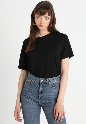 UTA  - T-shirt basique - black