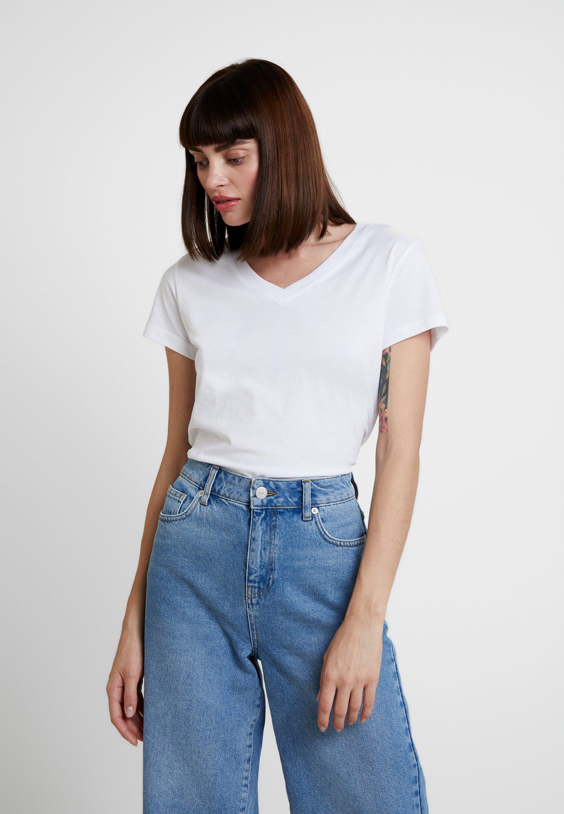 Samsøe Samsøe SOLLY - T-shirt basic - white