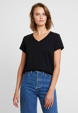 SOLLY - T-shirt basic - black