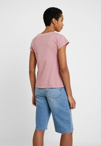 Samsøe Samsøe - LISS - T-shirt basic - dusty rose - 2