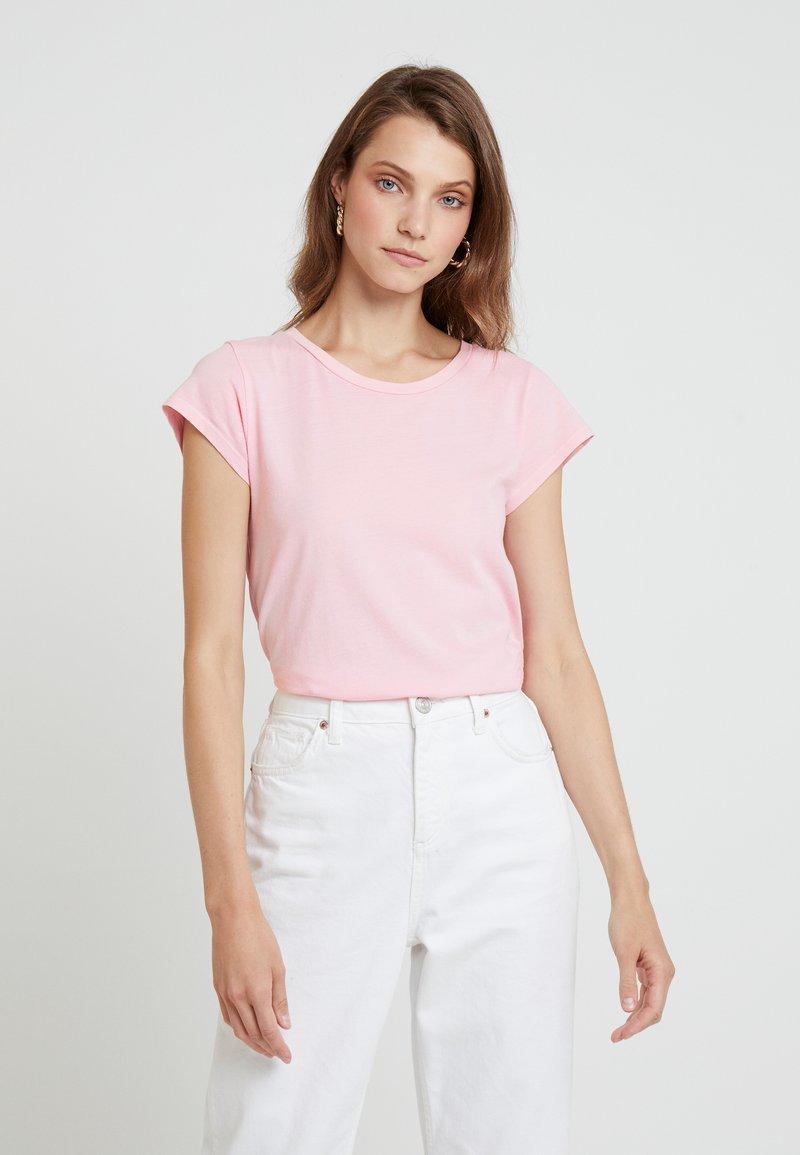 Samsøe & Samsøe - LISS - T-Shirt basic - almond blossom
